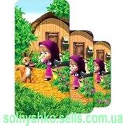 Продам детское махровое полотенце Маша и Медведь -  Каша 35х70 ТМ Непо