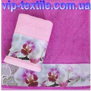 Продаем полотенце махровое 35 х 70 см Орхидея ТМ Романтика